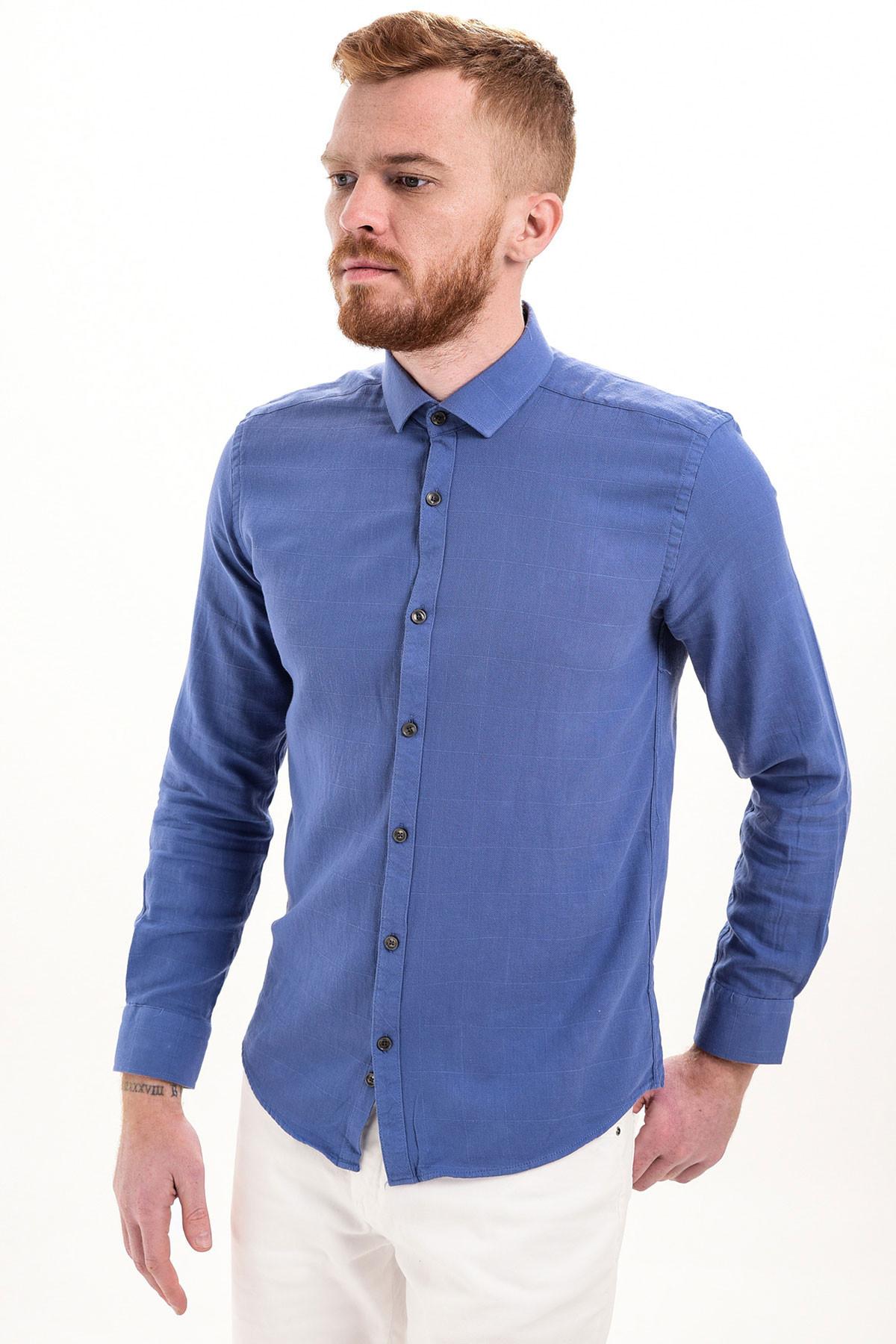 cae717b106a1b Erkek Slim Fit Gömlek Modelleri Ve Çeşitleri   Manche ®   Şık ...