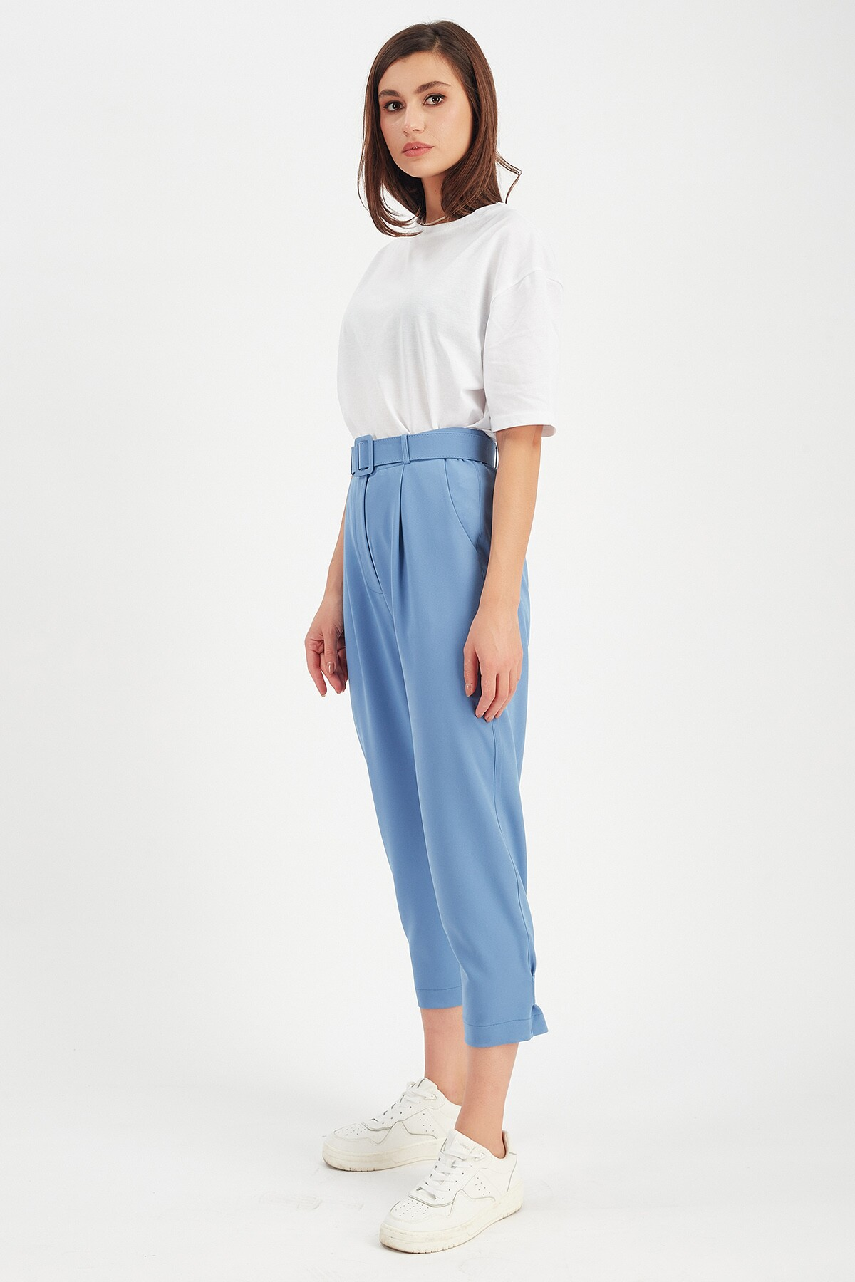 Mavi Düğme Detaylı Pantolon | Mk21W660128